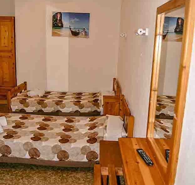 Two bed room beds
